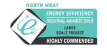 North West Energy Efficiency Regional Awards 2018-large scale project