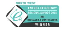 North West Energy Efficiency Regional Awards 2018-RHI installer and contractors